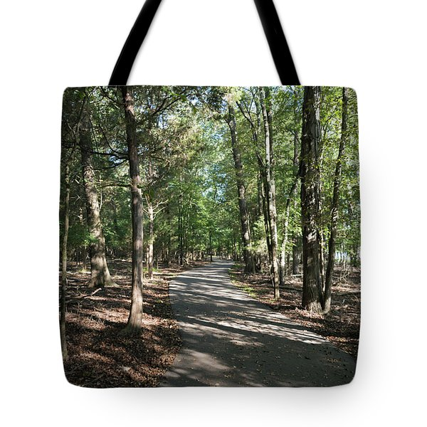 Path Around Lake Tote Bag