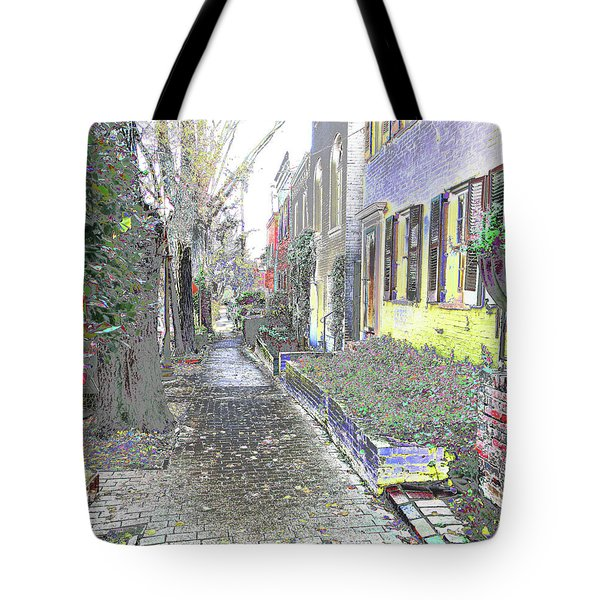 Tote Bag featuring the photograph Path Beyond by EDi by Darlene
