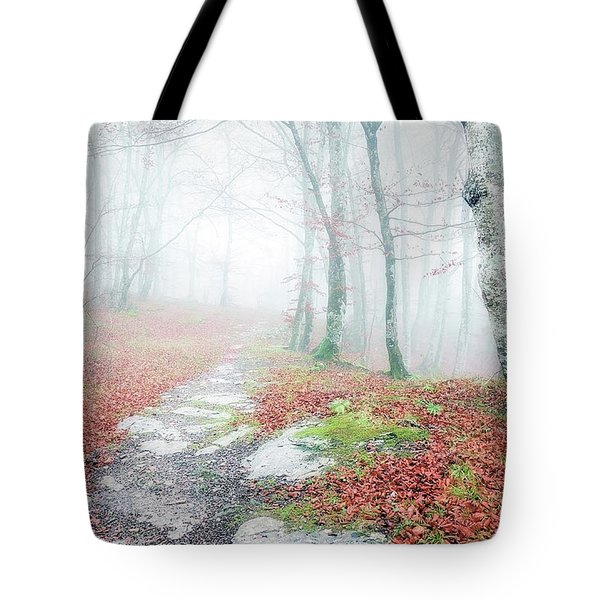 Path In The Forest Tote Bag