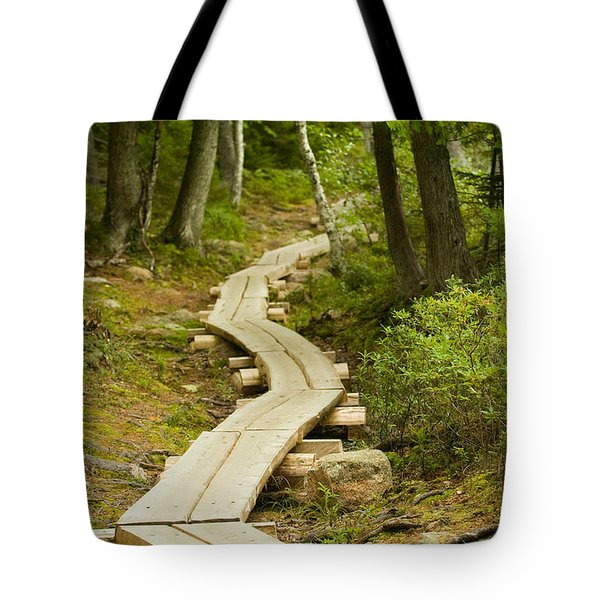 Path Into Unknown Tote Bag by Sebastian Musial