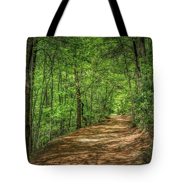 Path Less Travelled Tote Bag