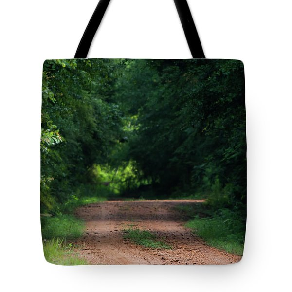 Tote Bag featuring the photograph Path Of Light Horizontal by Shelby Young