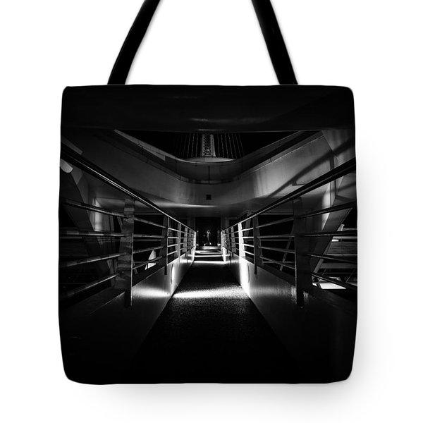 Path Of Shadows Tote Bag
