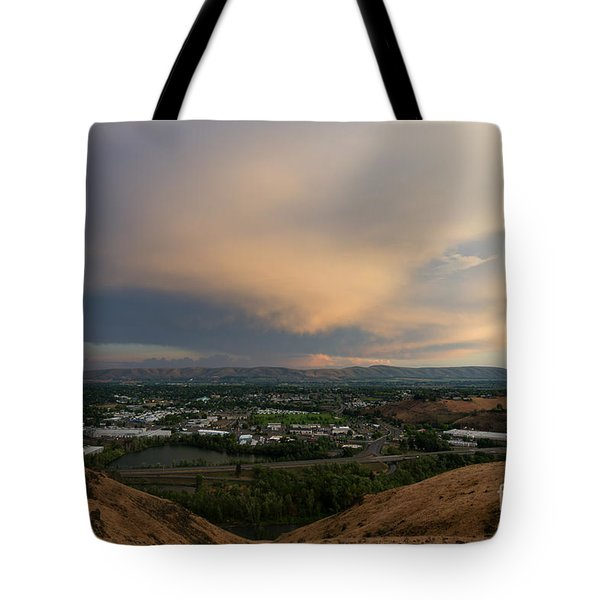 Path Of The Storm Tote Bag