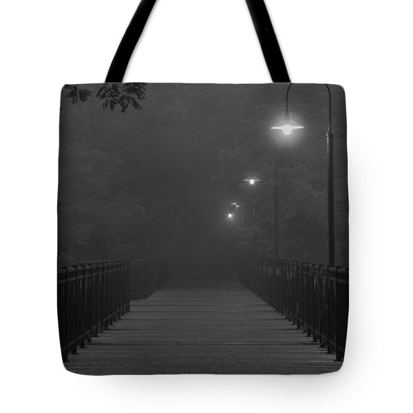 Path To Darkness Tote Bag