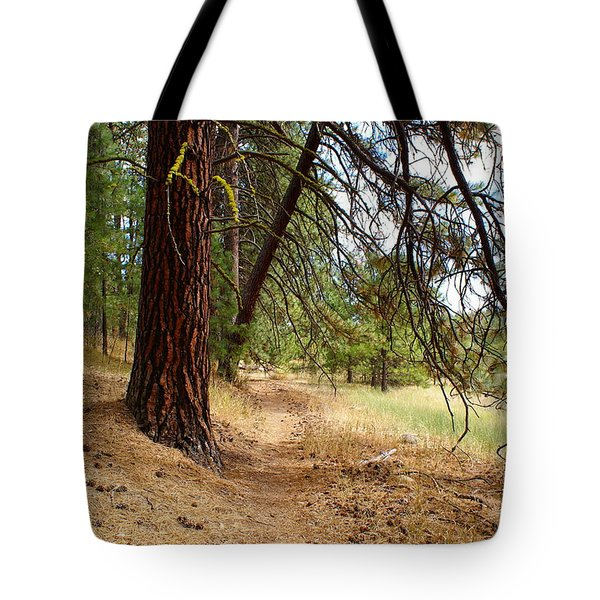 Tote Bag featuring the photograph Path To Enlightenment 2 by Ben Upham III