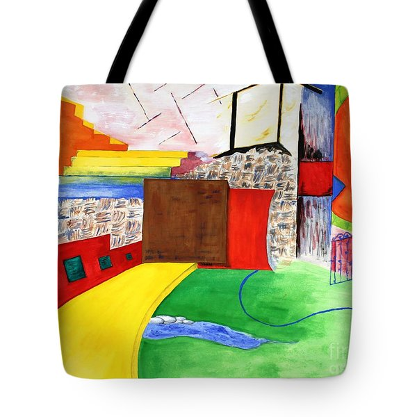 Path To Enlightenment Tote Bag by Vonda Lawson-Rosa