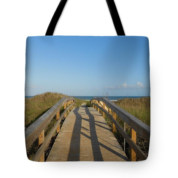 Path To Happiness Tote Bag
