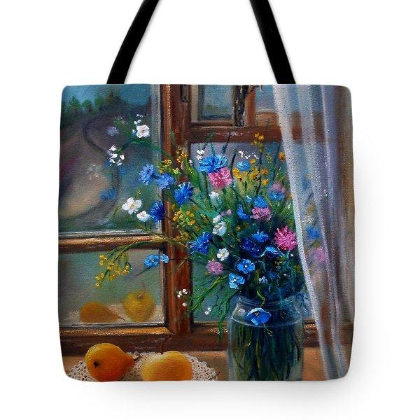 Path To Home Tote Bag by Nina Mitkova