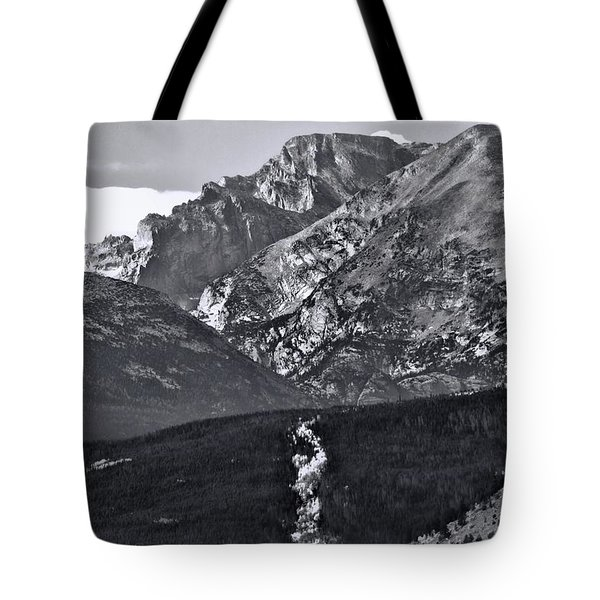 Tote Bag featuring the photograph Path To Longs Peak by Dan Sproul