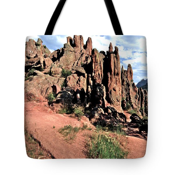 Path To Red Rocks Tote Bag