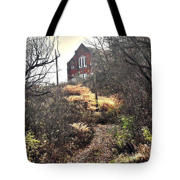 Path To Salvation Tote Bag