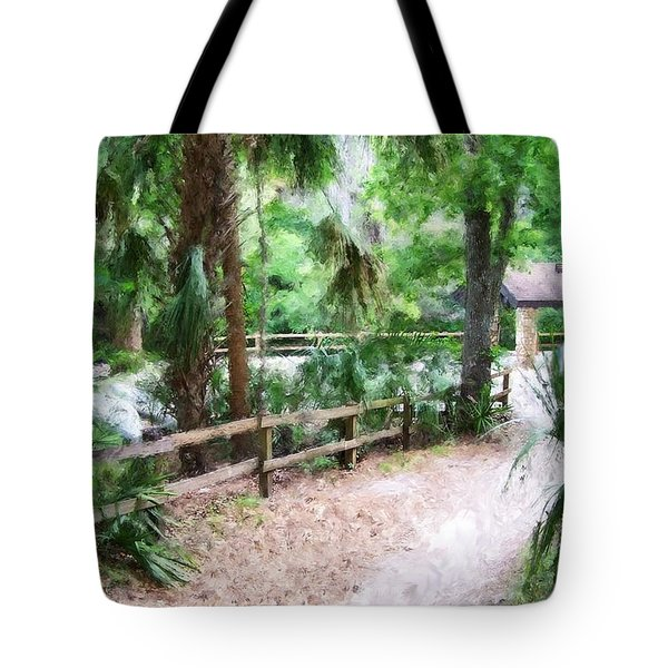 Path To Shade Tote Bag