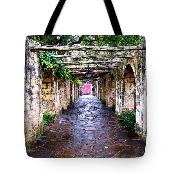 Path To The Alamo Tote Bag