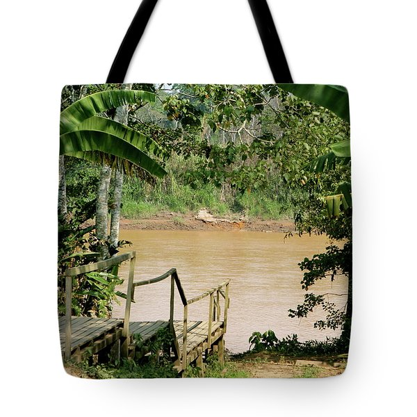 Path To The Amazon River Tote Bag