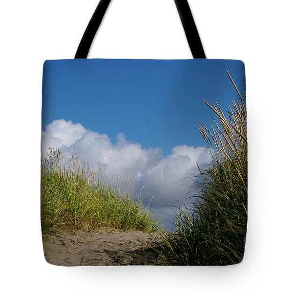 Path To The Beach Tote Bag by Jeanette French