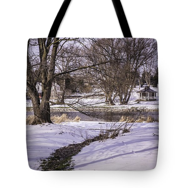 Path To The River Tote Bag by Anne Witmer