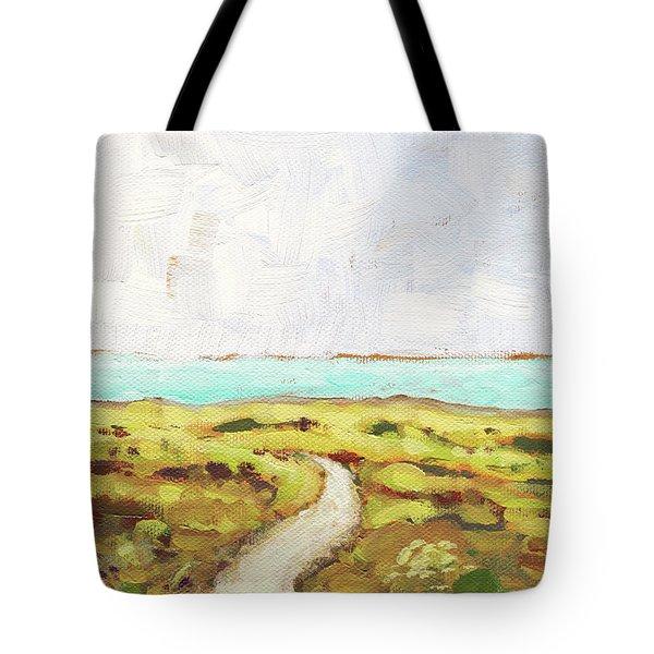 Path To The Sea Tote Bag