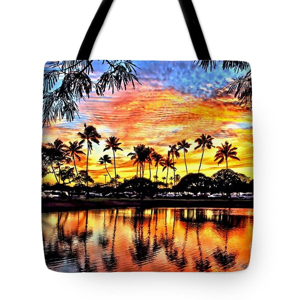 Tote Bag featuring the digital art Path To The Sea by DJ Florek
