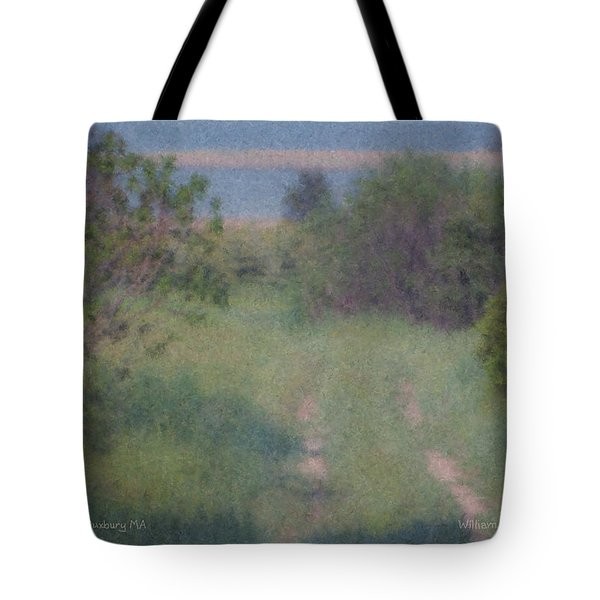 Path To The Sea - Duxbury Ma Tote Bag