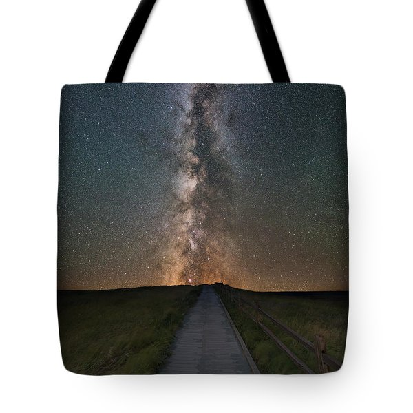 Path To The Stars  Tote Bag