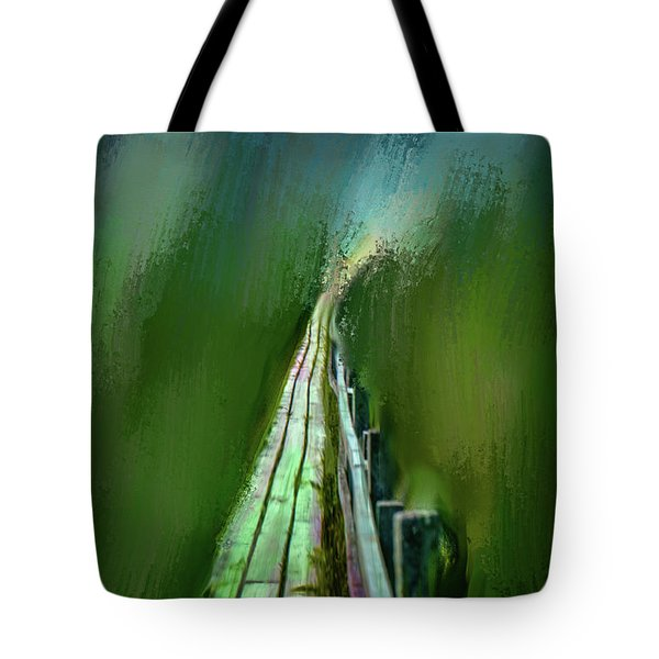 Path To The Unknown #h5 Tote Bag