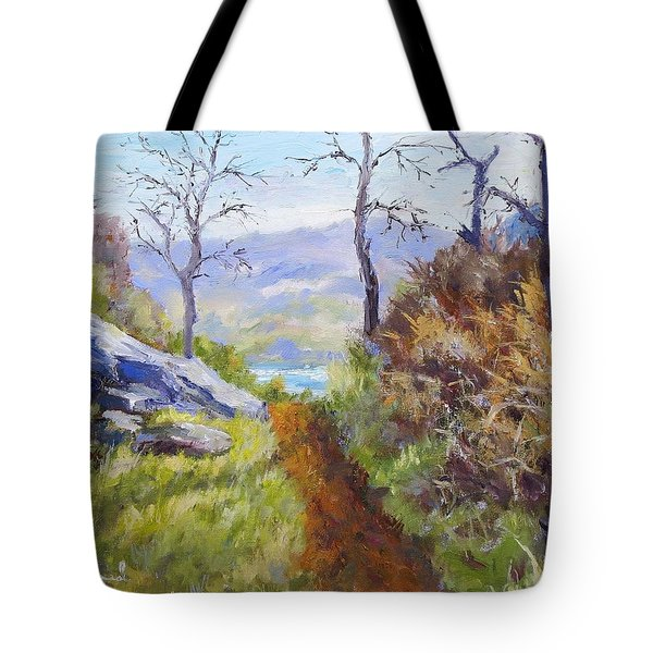 Path To The Water Tote Bag