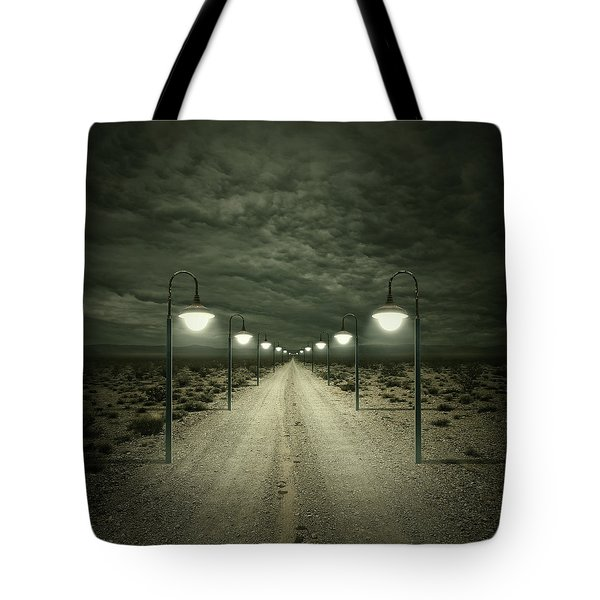 Path Tote Bag by Zoltan Toth