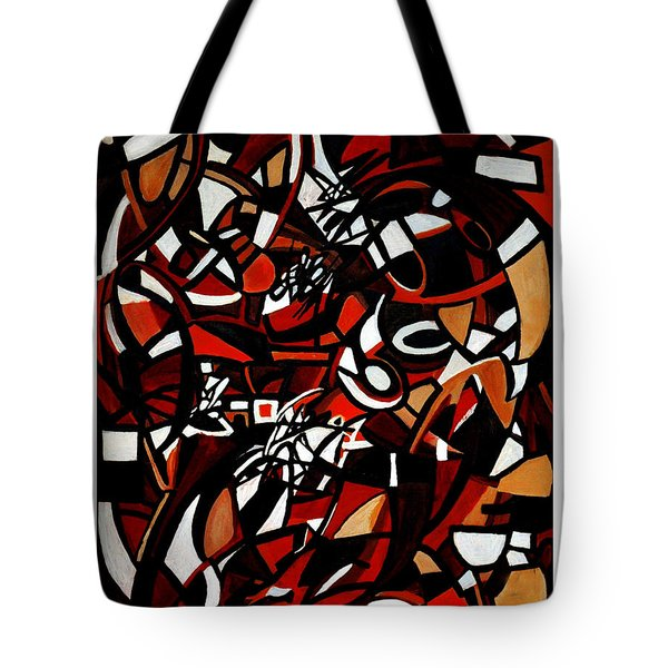 Pathological Space Tote Bag by Carmen Fine Art