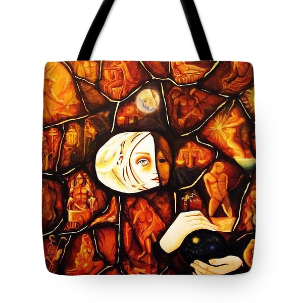 Paths Tote Bag by Dalgis Edelson