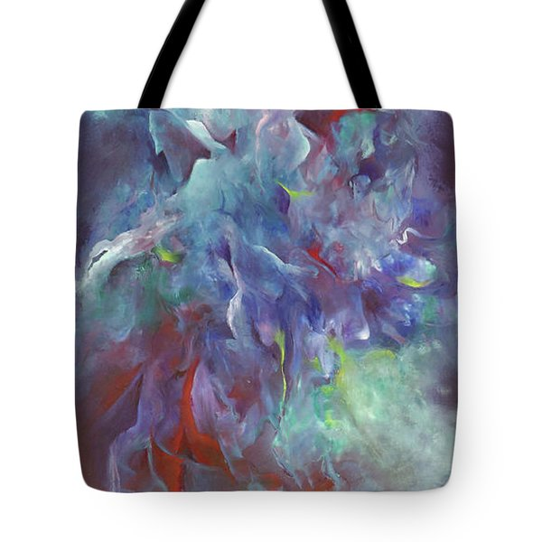 Pathway Of A Prayer Tote Bag by Karen Kennedy Chatham