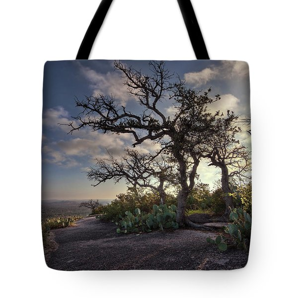 Pathway On Top Of Enchanted Rock Tote Bag