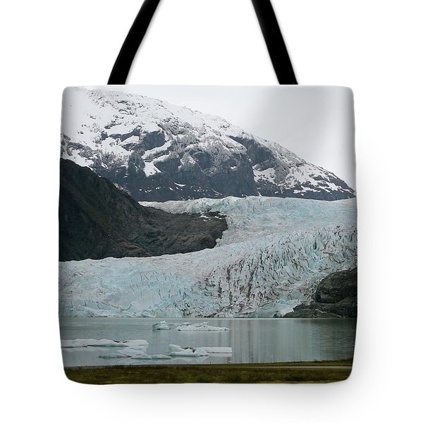 Pathway To An Icy Wonderland Tote Bag