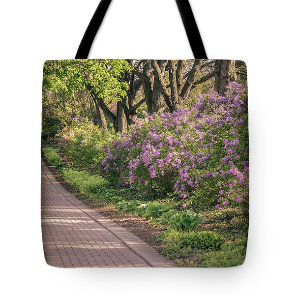 Pathway To Beauty In Lombard Tote Bag