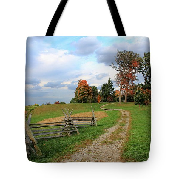 Pathway To Fall Tote Bag