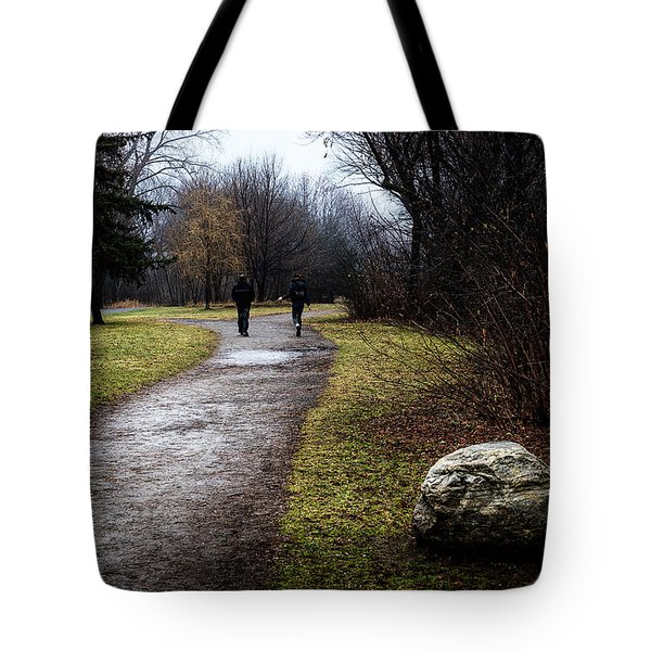 Pathway To Nowhere Tote Bag by Celso Bressan