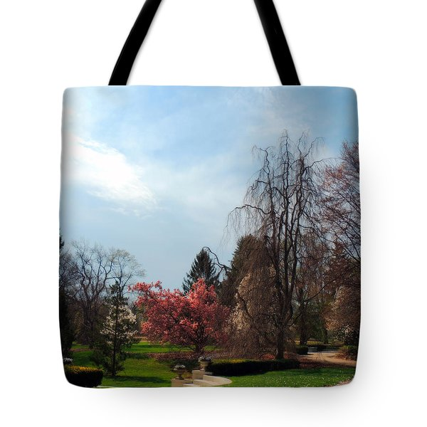 Pathway To Spring Tote Bag