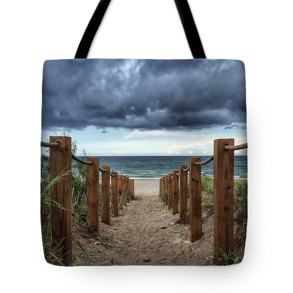 Pathway To The Clouds Tote Bag