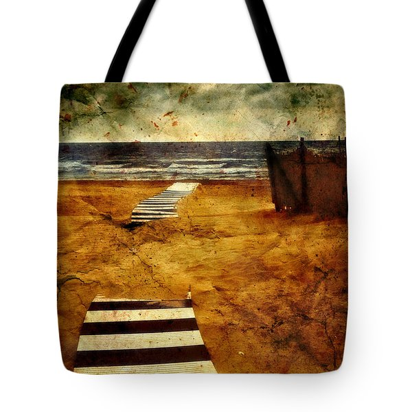 Pathway To The Sea II Tote Bag