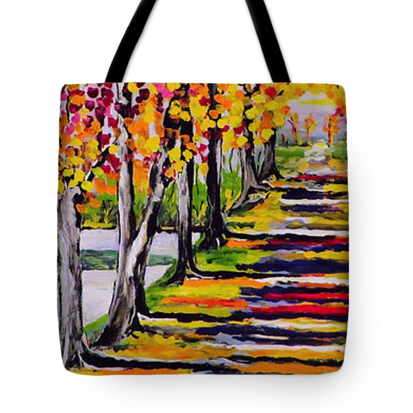 Pathyway To The Light Tote Bag by Kathleen Sartoris