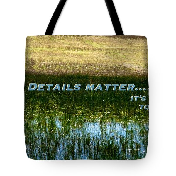 Patience  Tote Bag by David Norman