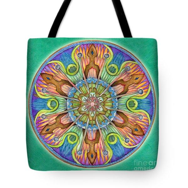 Patience Mandala Tote Bag