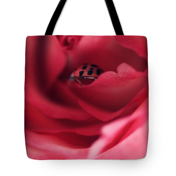 Patient Lady Tote Bag by The Art Of Marilyn Ridoutt-Greene
