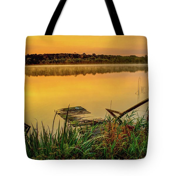 Patient Pier Tote Bag
