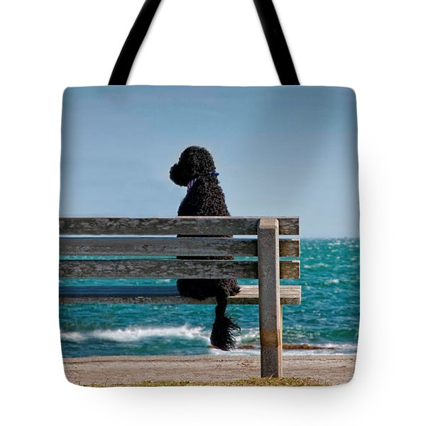Patient Waiter Tote Bag