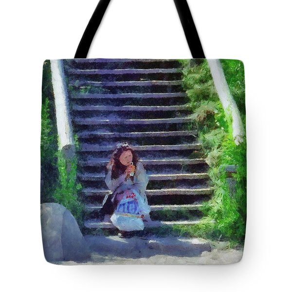 Patiently Waiting Tote Bag by Jeff Kolker