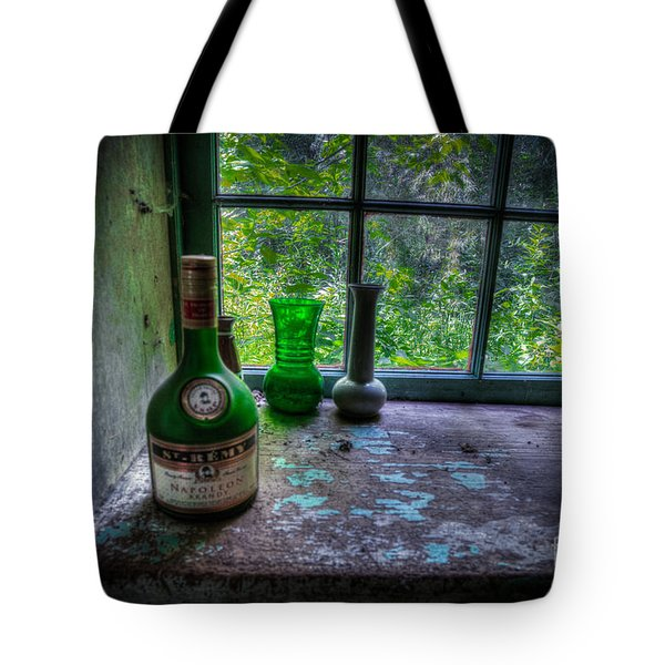 Patina In Green Tote Bag