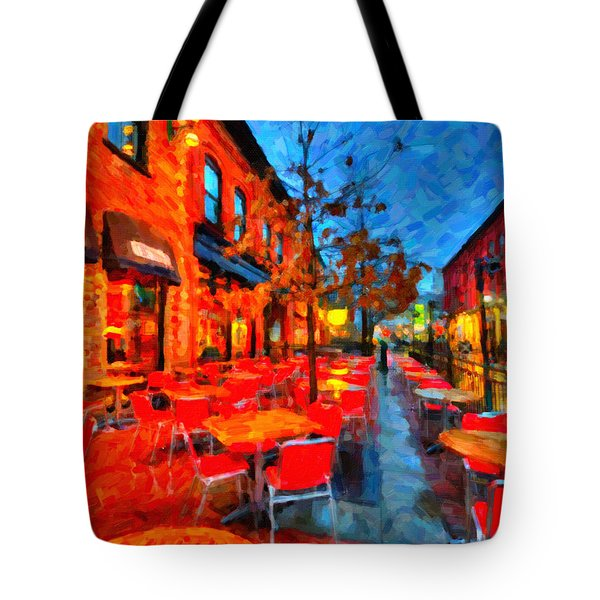 Patio Tote Bag by Andre Faubert