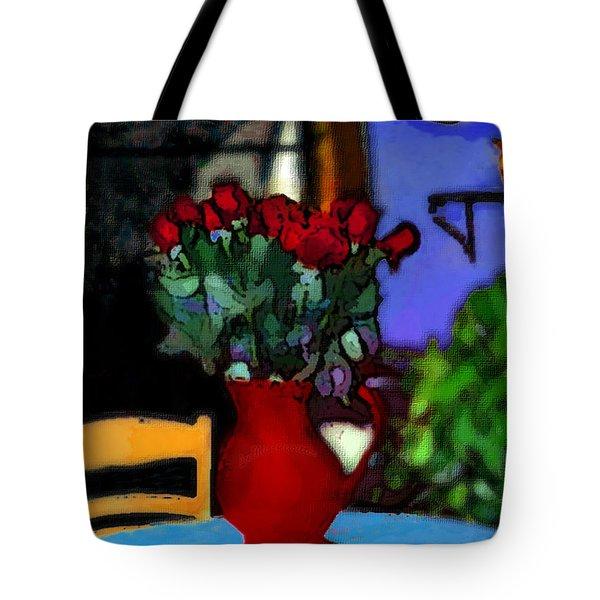 Patio Art 2  Tote Bag