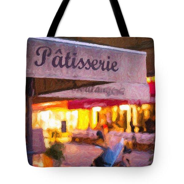 Patisserie - Paris Art Print Tote Bag